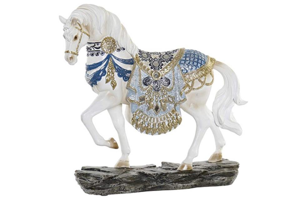 Figura beli konj 25x7x24