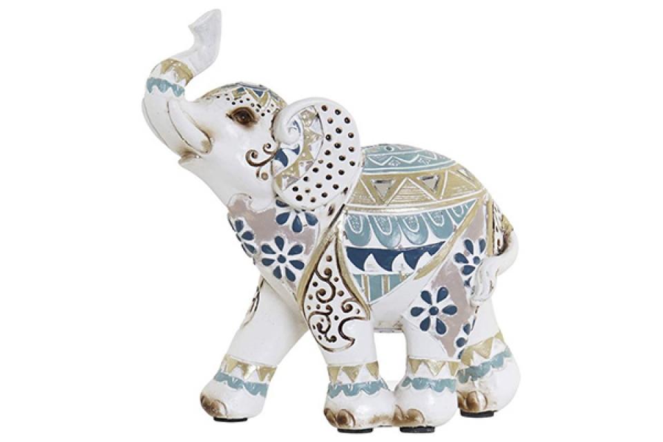 Figura beli slon 11,5x5x12