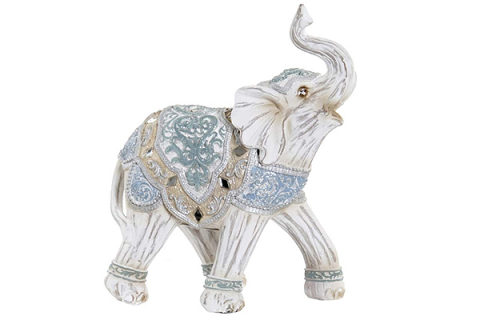 Figura beli slon 14x7x17