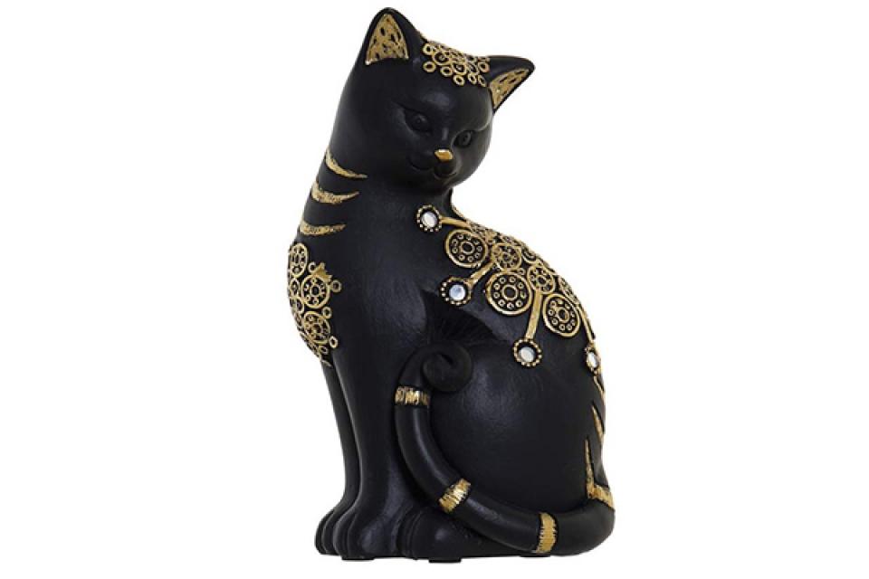 Figura black cat 10x7x17