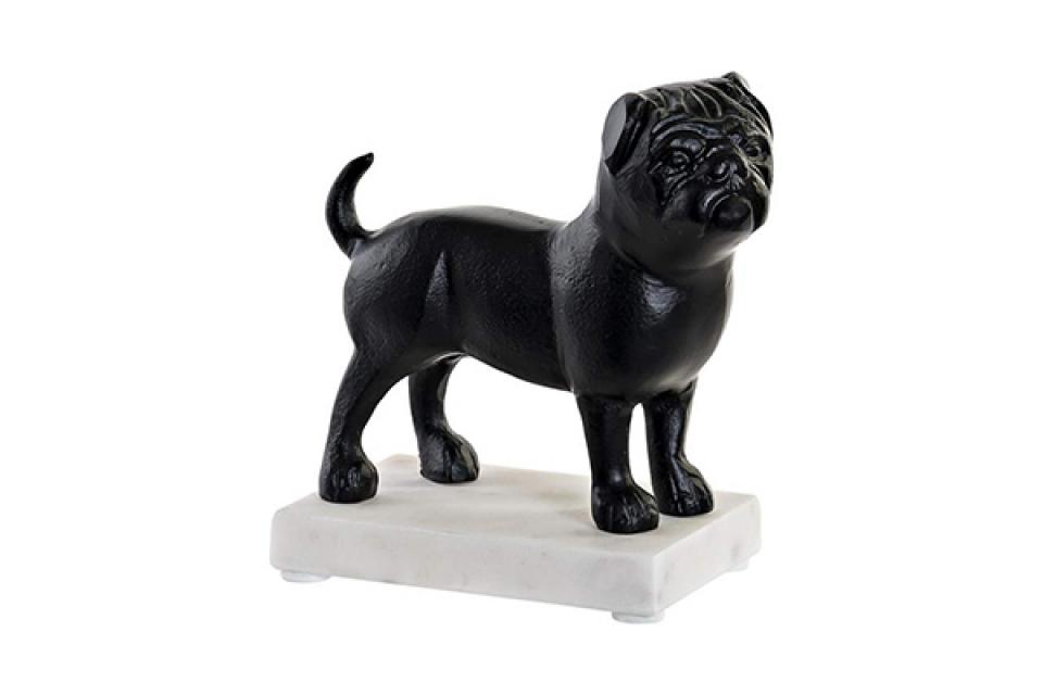Figura black dog 18x10x20