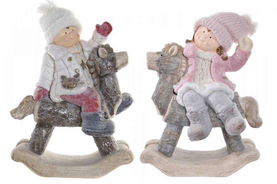 Figura boy snowed 41,5x23x54 2 modela