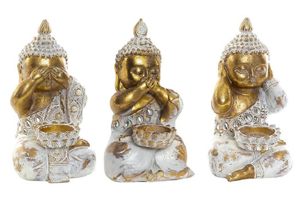 Figura buddha decape 16x9x10 3 modela