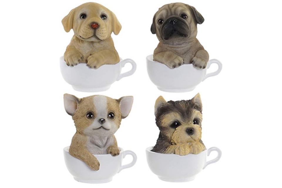 Figura dog mug 12x10,5x14 4 modela