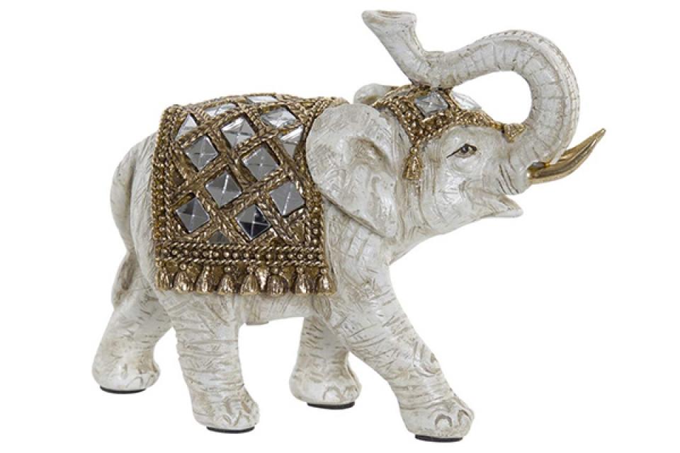 Figura elephant beige 18x7x140