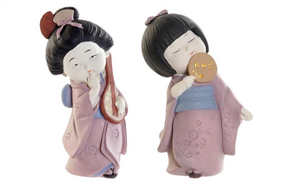 Figura gejša 10x7,5x17,5 2 modela