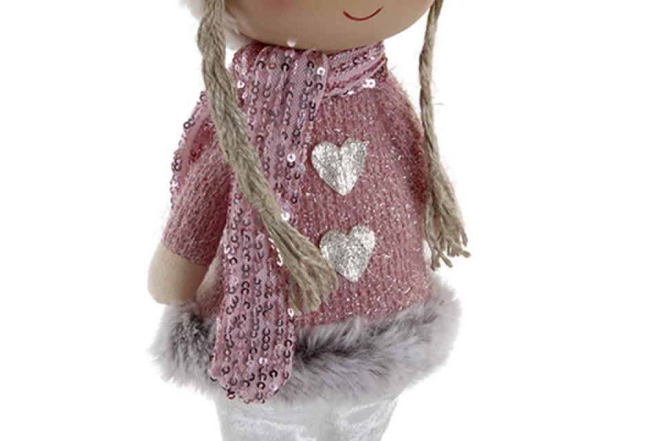 Figura girl pink 10x8x30,5
