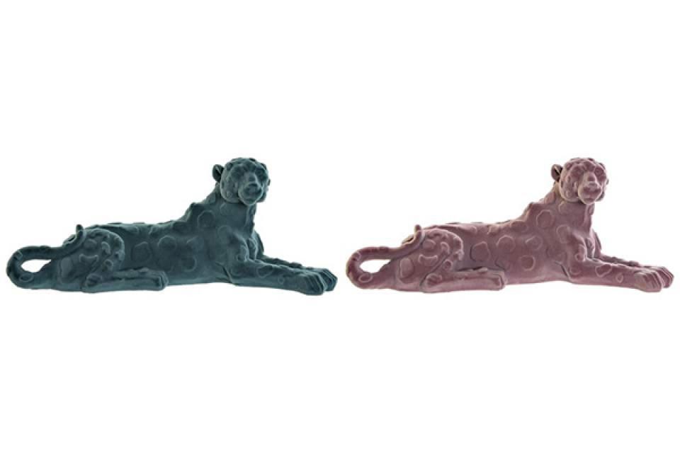 Figura lion 26,5x9x11 2 boje