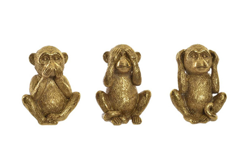 Figura monkey 10,5x8x15 3 modela
