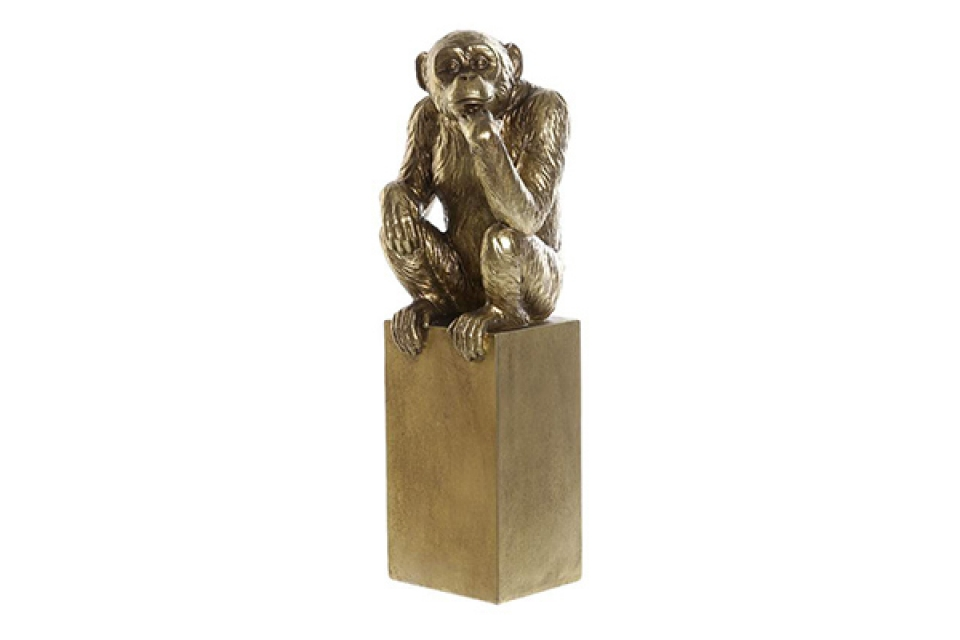 Figura monkey golden 10,5x9x39