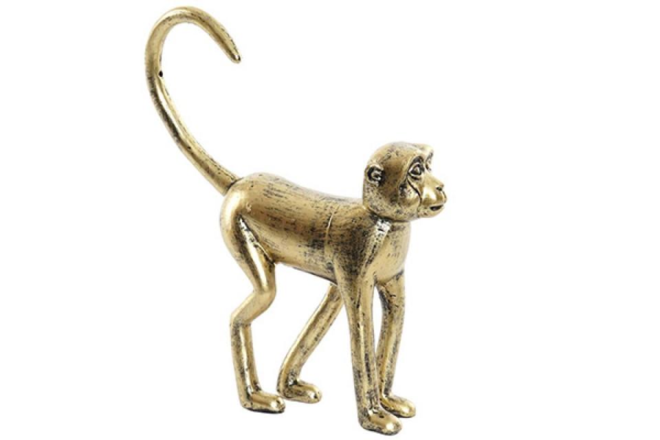 Figura monkey golden 26x6,5x29