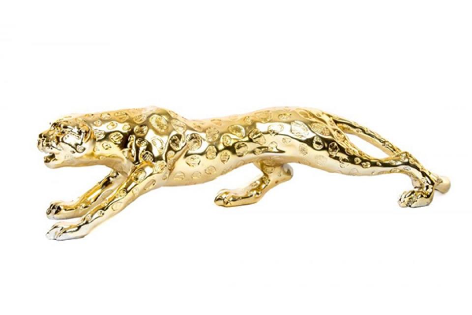 Figura panter golden 59x14x14