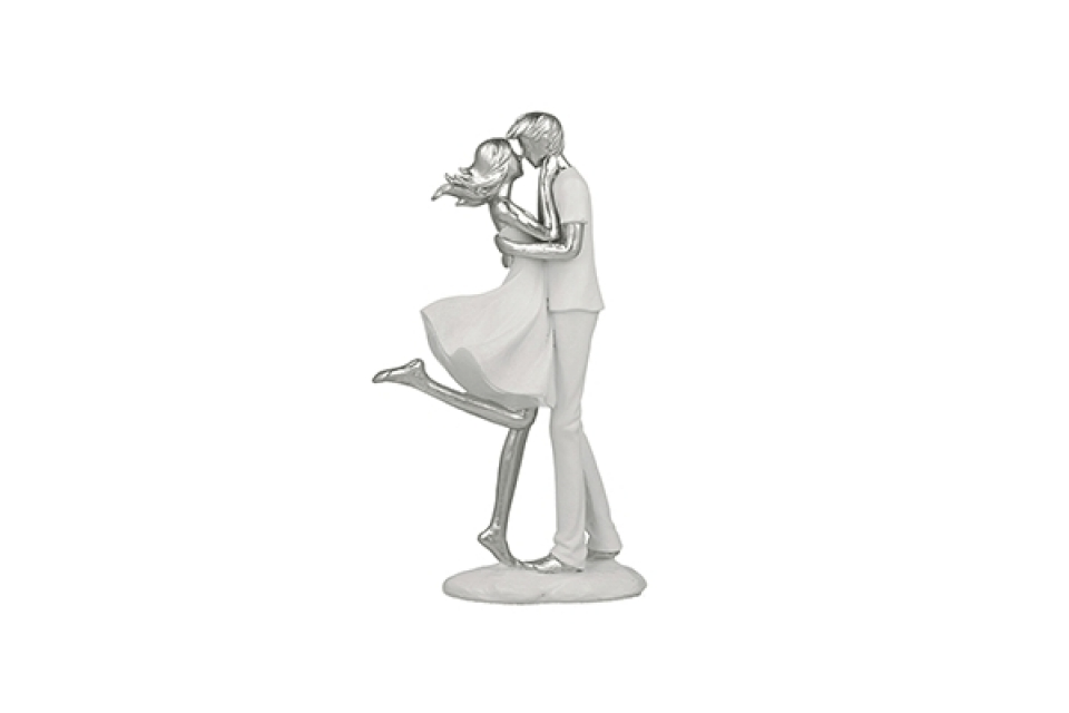 Figura par silver 25 cm