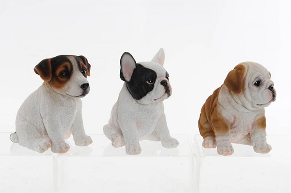 Figura puppy 16,5x11,5x16 3 modela