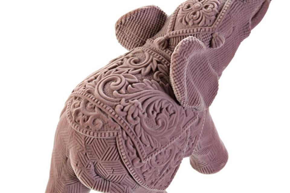 Figura slon u boji 20,5x9x21,5