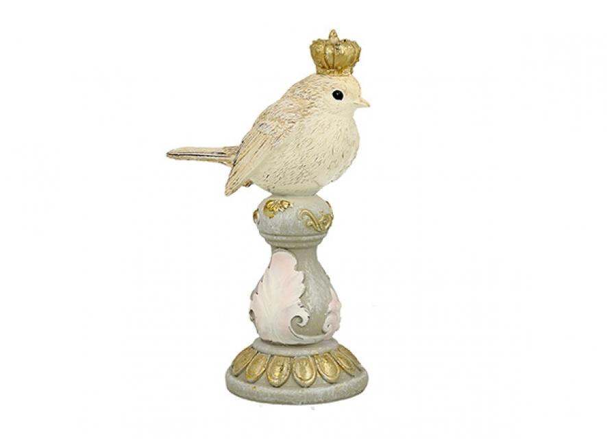 Figura vrabac sa krunom