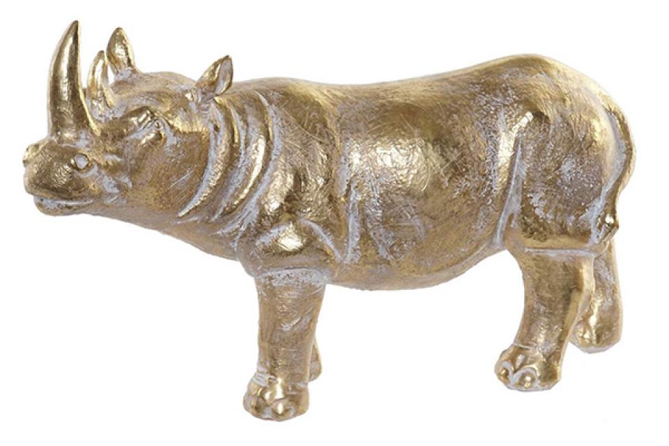 Figura zlatni nosorog 43x14x24,5
