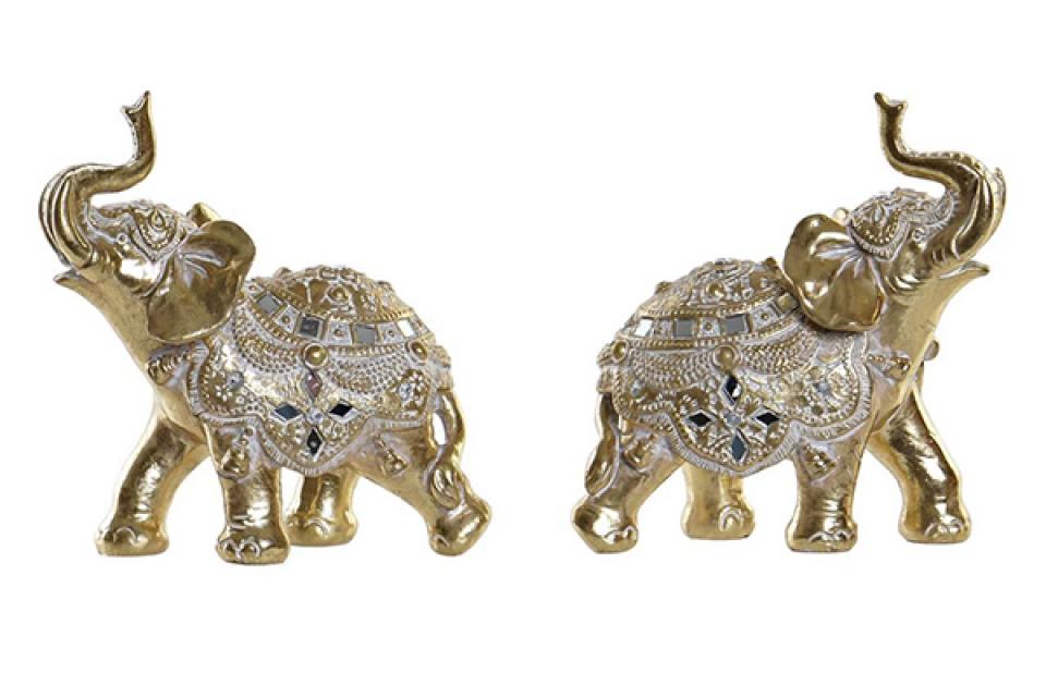 Figura zlatni slon 20x8x20 2 modela