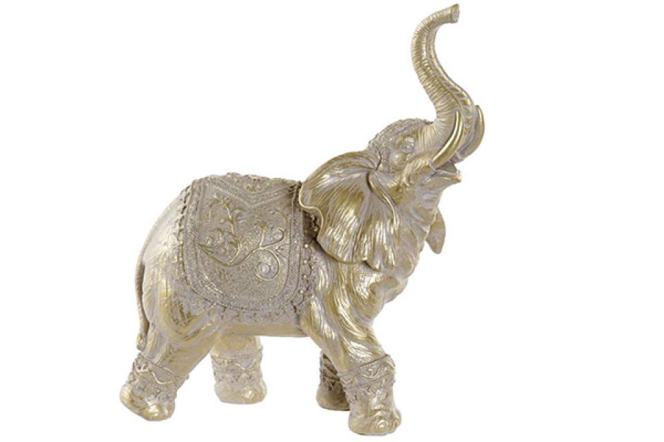 Figura zlatni slon 22x10x26