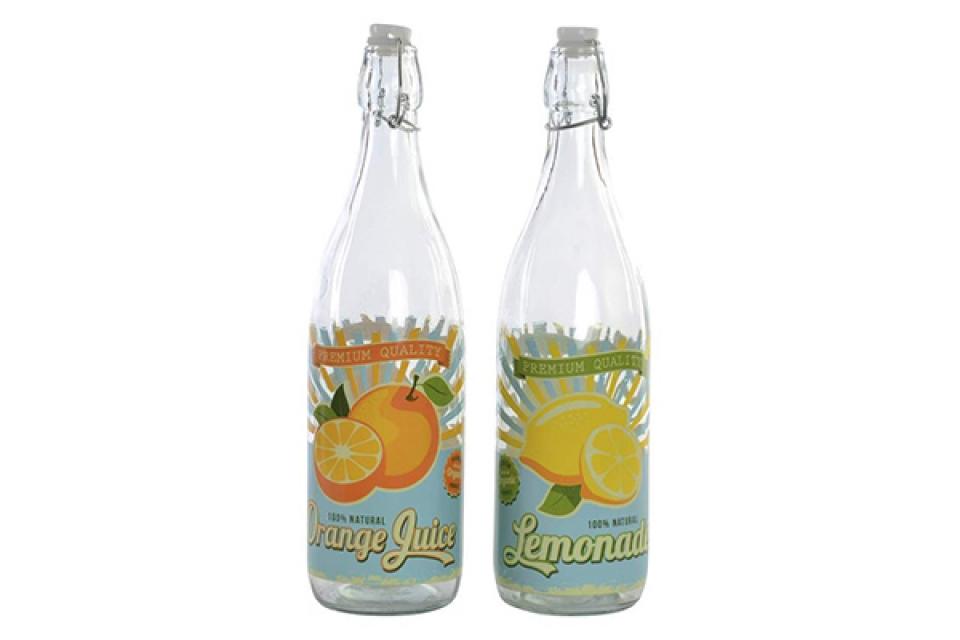 Flaša fruits 8x8x32 1000 ml