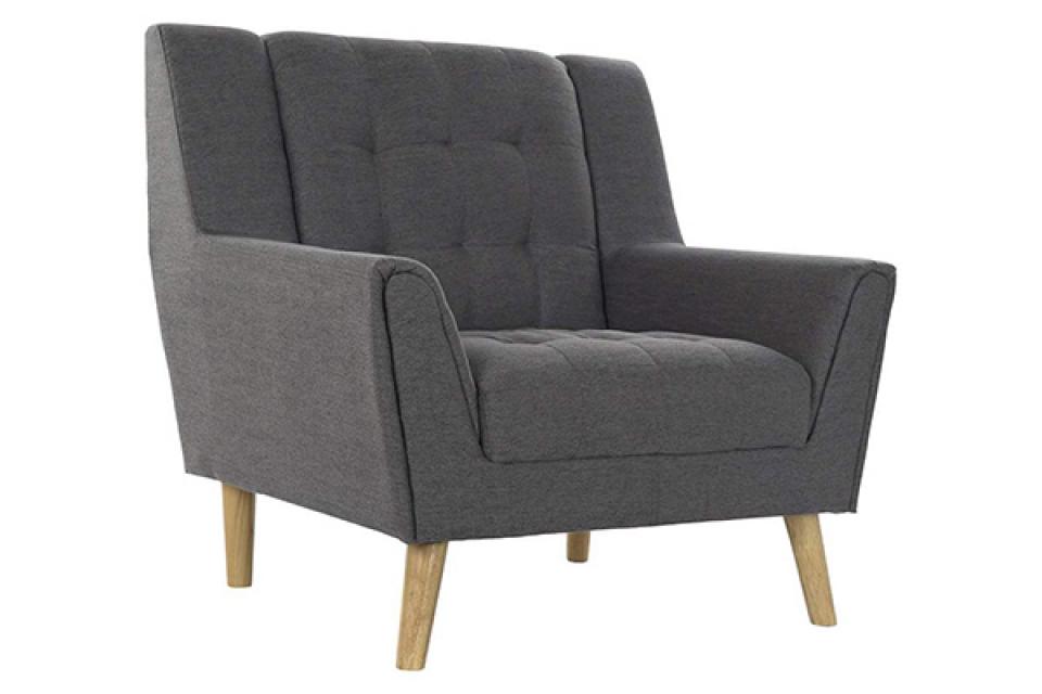 Fotelja eukaliptus dark gray 93x80x90
