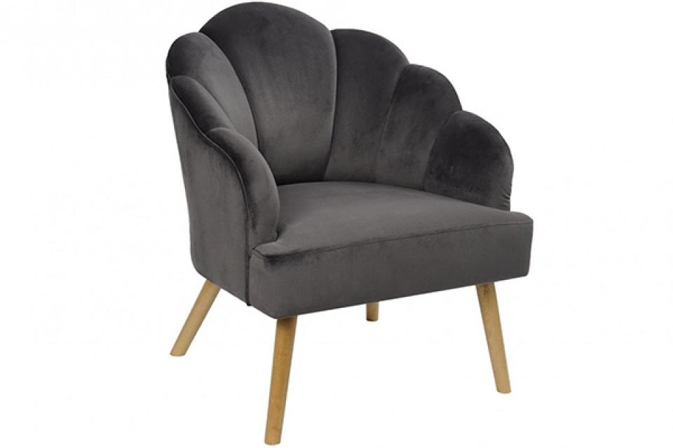 Fotelja grey 62x73x83