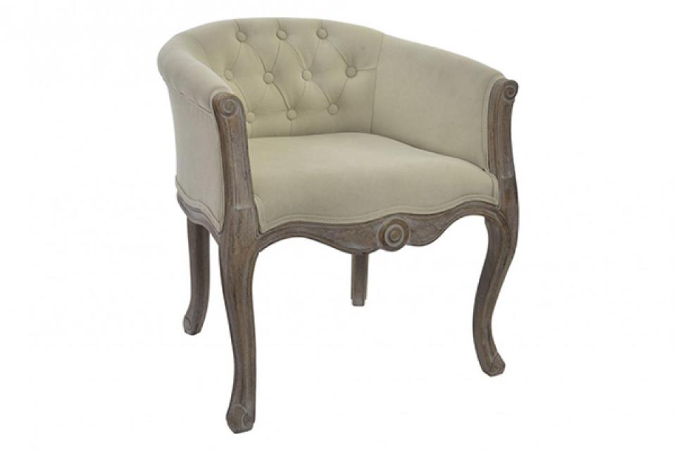 Fotelja natural beige 61x61x71