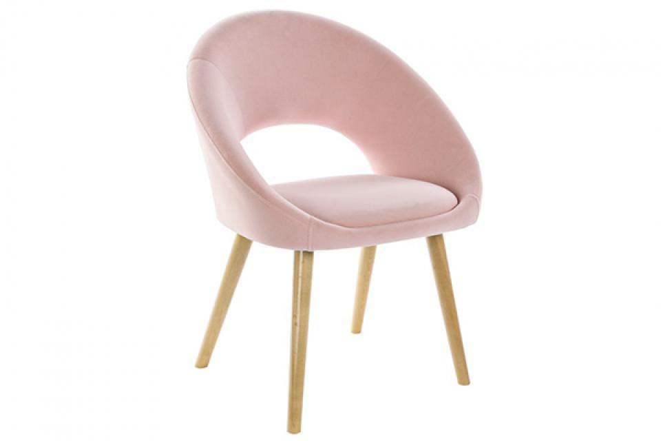 Fotelja pink 63x53x83