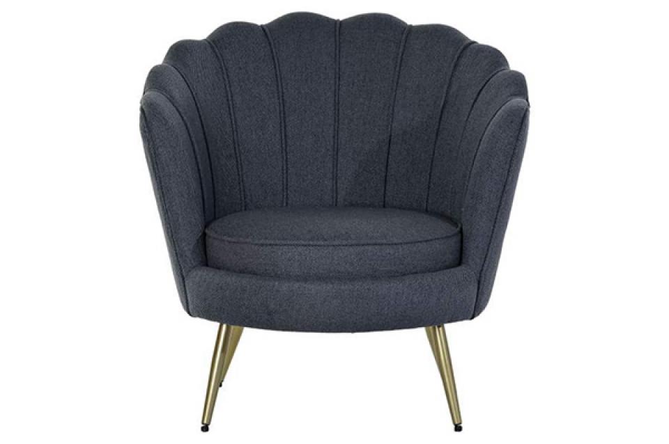Fotelja plava 80x75x86