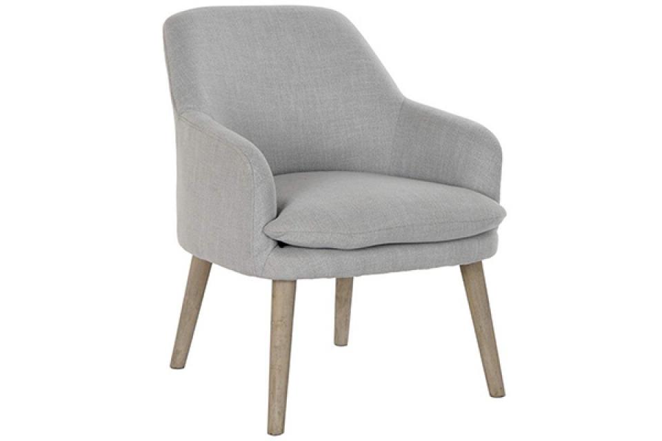 Fotelja svetlo siva 61x68x78