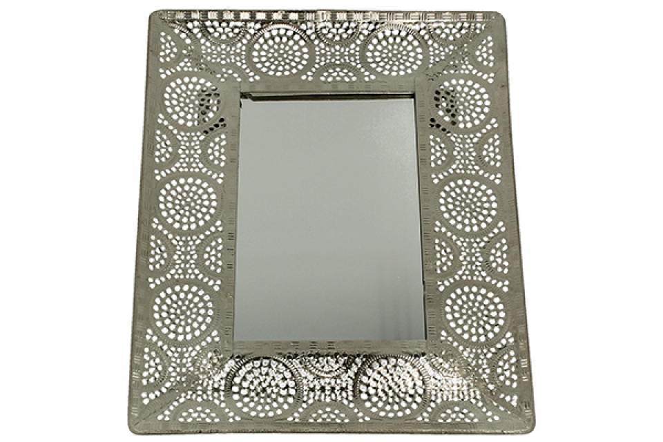 Ogledalo azur 19x23,5 cm