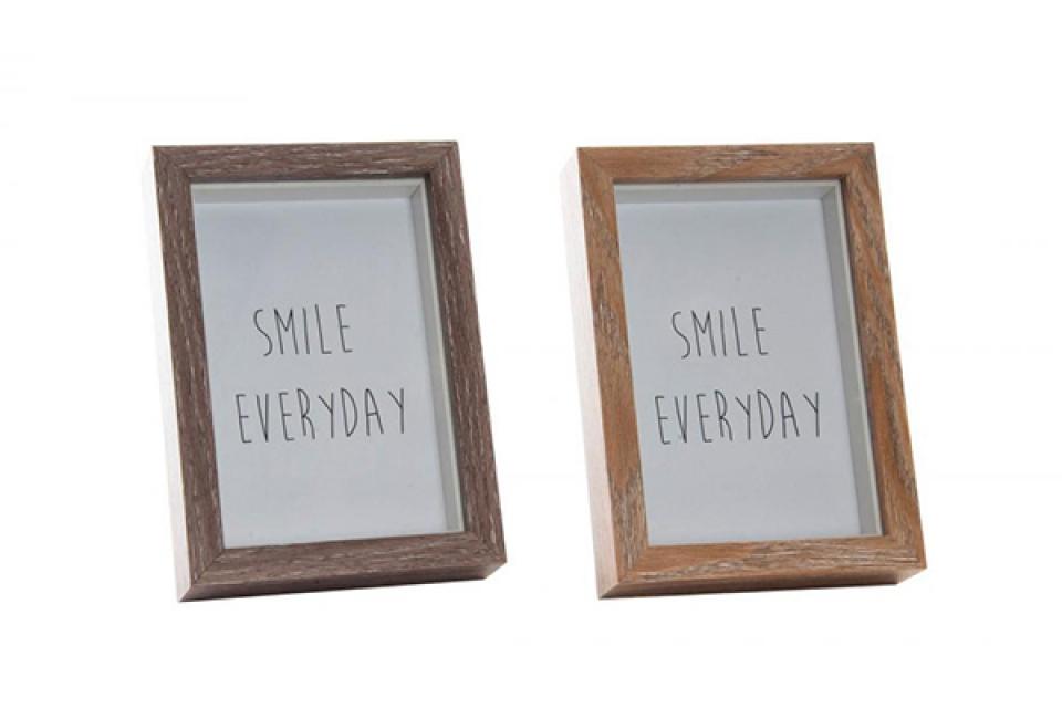 Foto ram smile 10x15/12x17x3,5 2 boje