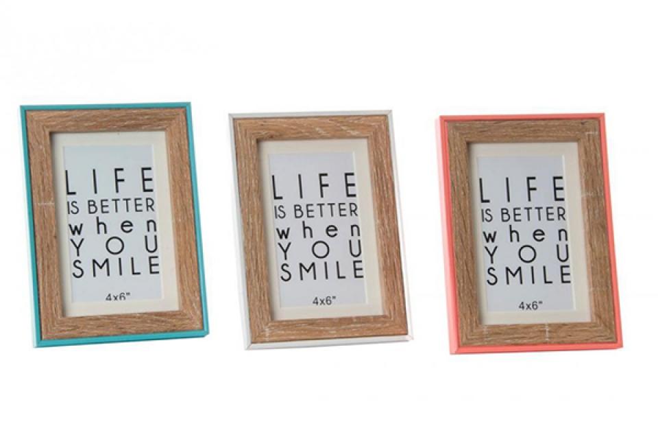 Foto ram smile 10x15/13x17x1,5 3 boje