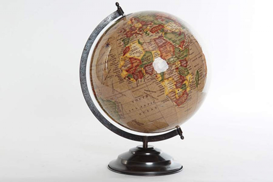 Globus beige 30x30x40