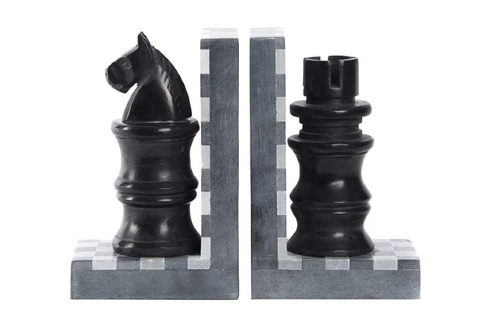 Graničnik za knjige šah / 2 9x6x16
