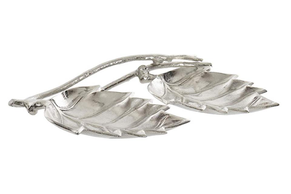 Činija leaves silver 42x29x6,5