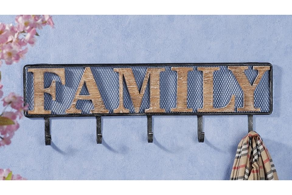 Čiviluk family 72,5 x 5 x 23