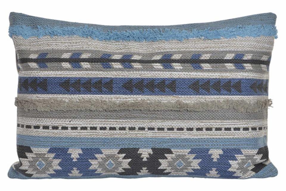 Jastuk boho blue 60x40 760 gr.