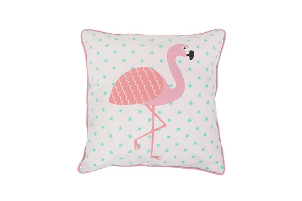 Jastuk flamingos i zvezdice 38 x 38