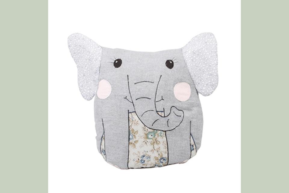 Jastuk sivi slon 40x39
