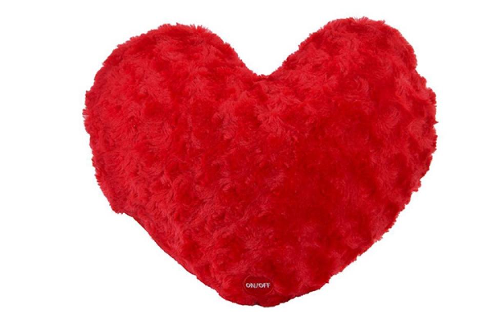 Jastuk srce 35x32x10 2 boje