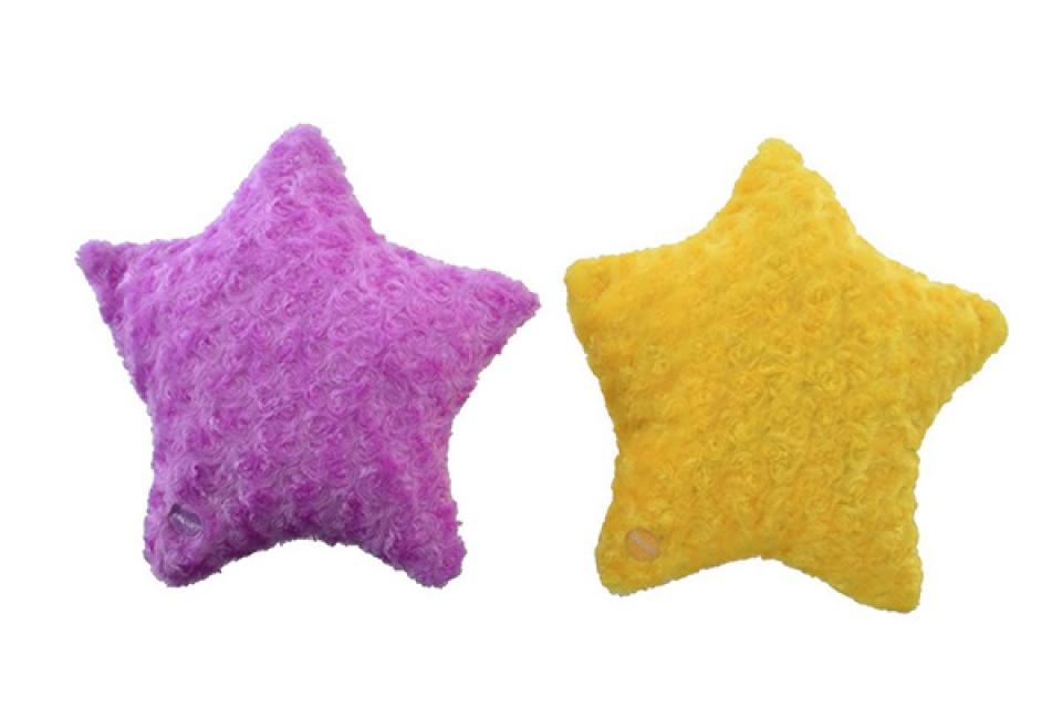 Jastuk zvezda 39x39x11 2 boje