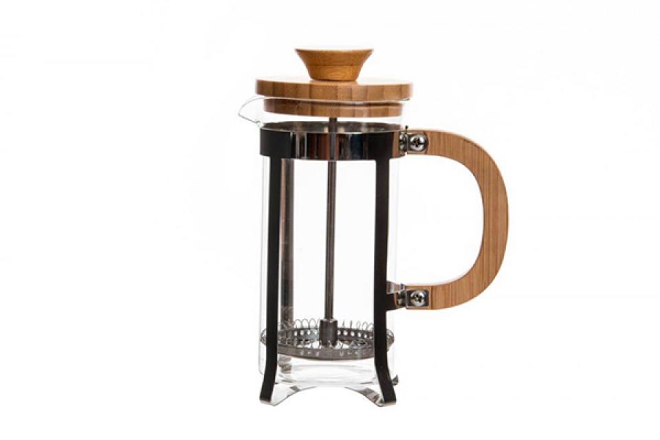 Kafe aparat inox / bambus 350 ml