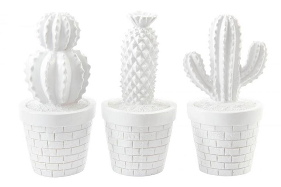 Kaktus figura rezin 9x18 3 modela