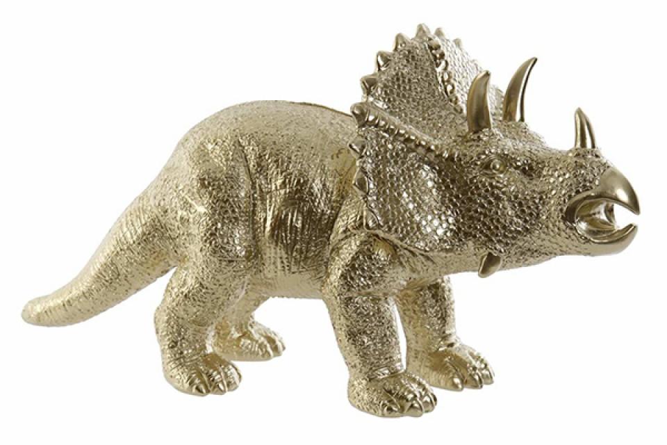 Kasica dinosaurus golden 34x14x18
