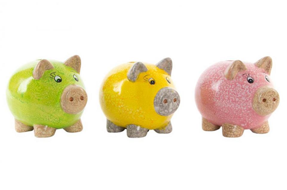 Kasica little pig 15x11,5x12,5 3 modela