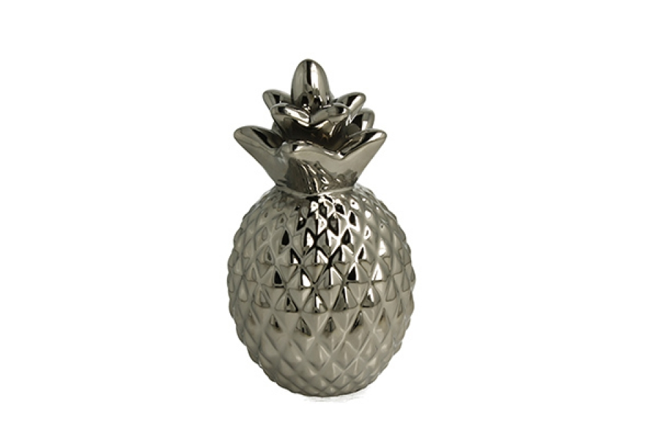 Kasica srebrni ananas 15 cm