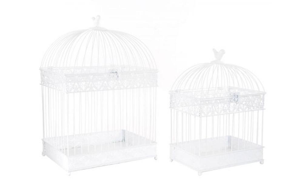 Kavezi  sa ptičicom na vrhu set/2 28x21x40