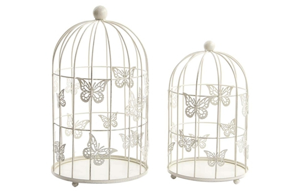 Kavezi sa leptirima set / 2 30x30x51