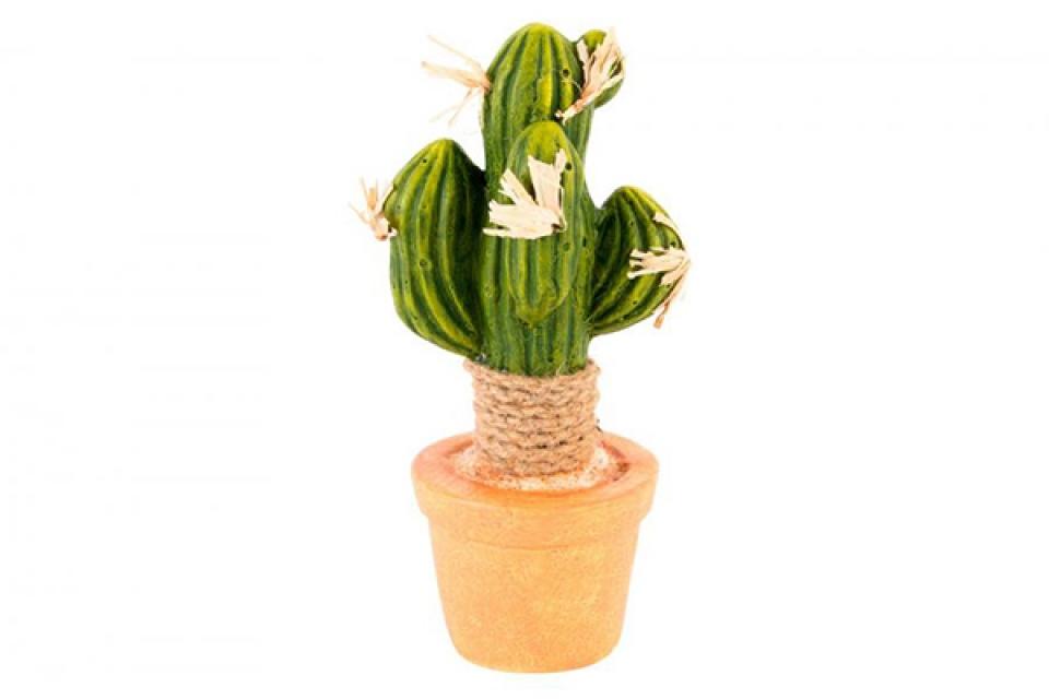 Keramička figura kaktus 9x8x21